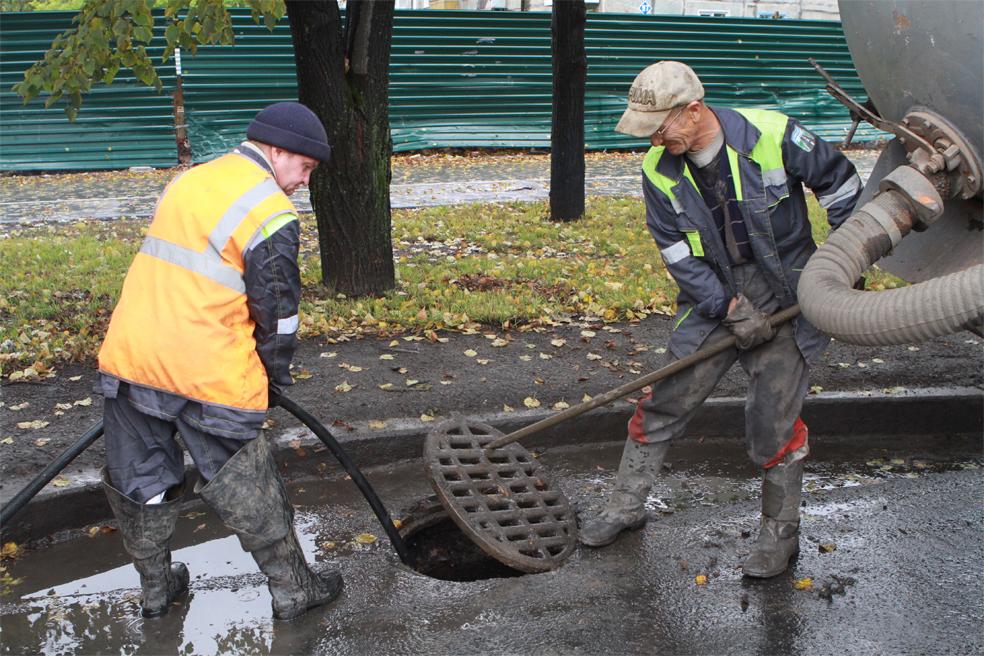 Профессиональная очистка ливневой канализации