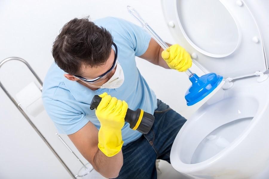 Очистка вантузом